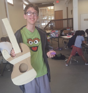Otis's guitar